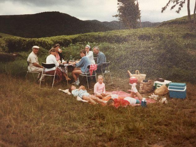 Picnic in Tea Plantation